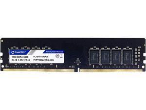 Timetec Hynix IC CJR 16GB DDR4 3600MHz PC4-28800 Unbuffered Non-ECC 1.35V CL18 288 Pin UDIMM Desktop Memory RAM Module Upgrade (16GB)