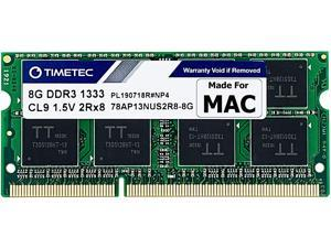 Timetec Hynix IC 8GB Compatible for Apple DDR3 1333MHz PC3-10600 SODIMM Memory for Early/Late 2011 13/15/17 inch MacBook Pro, Mid 2010 and Mid/Late 2011 21.5/27 inch iMac, Mid 2011 Mac Mini (8GB)