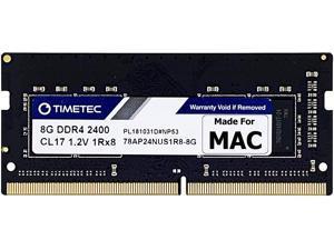 Timetec Hynix IC 8GB Compatible for Apple 2017 iMac 27-inch w/Retina 5K Display, 2017 iMac 21.5-inch w/Retina 4K or Non-Retina Display DDR4 2400MHz PC4-19200 1Rx8 CL17 SODIMM Memory (Single Rank 8GB)…