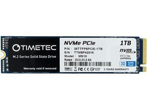 Timetec 1TB 3D NAND NVMe Gen3x4 PCIe M.2 2280 Internal Solid State Drive
