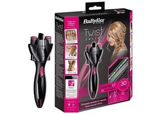 Babyliss Scunci 491954U InstaTwist Braid Maker Hair Styler With 50 Polyband Hair Ties