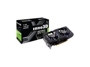 nno3D GeForce GTX 1050 Ti Twin X2 4GB Graphics Video Card N105T-1DDV-M5CM HDMI