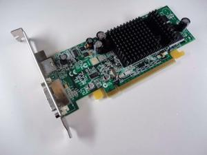 FOR Dell ATI Radeon X600 128MB DDR SDRAM PCI Express x16 Video Card CD453 H9142