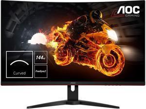 "AOC C32G1 32"" Curved Frameless Gaming Monitor, FHD 1920x1080, VA Panel, 1ms MPRT, 144Hz, FreeSync, DisplayPort/HDMI/VGA, VESA"