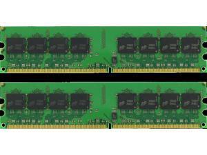 LOT OF TEN 2GB DDR2 DESKTOP MEMORY 667MHz PC2-5300 NON-ECC UNBUFFERED DIMM