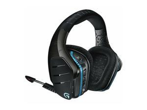 Logitech G933 Artemis Spectrum – Wireless RGB 7.1 Dolby and DTS Headphone Surround Sound Gaming Headset with Advanced Audio Drivers, Compatible with PC, PS4, Xbox One, Switch, and Mobile - Black