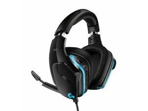 Logitech G635 7.1 LIGHTSYNC Wired RGB Fully Customizable Premium Gaming Headset Play Advanced  Be Heard Loud and Clear X2.0 Next-Gen Surround Sound - Black