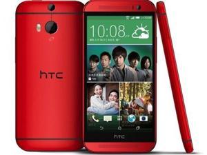 "HTC ONE M8 2014 Red (FACTORY UNLOCKED) 5"" Full HD2.5GHz Quad-CoreUltrapixel"