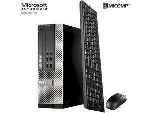 Fast Dell 7020 SFF I5-4570 Quad Core 3.2Ghz 8Gb 1Tb Desktop Computer PC Windows 10 Home 1 Year Warranty