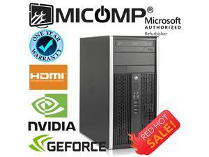 HP Gaming Computer Nvidia GTx 1050 Ti Video Core i5 3.2Ghz 16Gb 500Gb Windows 10 HDMI WiFi 1 Year Warranty