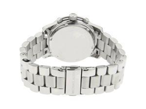 Michael Kors Silver Midsized Chrono Ladies Watch MK5076