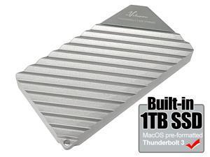 Avolusion 1TB Thunderbolt 3 External Portable SSD SSDTB900-PRO-1TB-SAM (Write: 990MB/s | Read: 2400MB/s) Designed for Macbook Pro, Mac Pro, iMac)