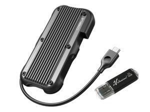 Avolusion ineo (C2594-480G+32) Rugged Mini 480GB (512GB) USB 3.1 Portable External SSD + Free 32GB USB Flash Drive [Ultra Speed R/W up to 950MB/s] - IP66 Waterproof & Military-Grade Shockproof