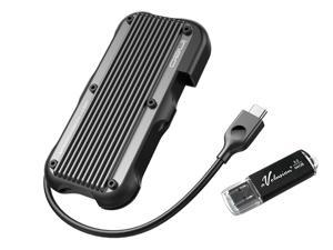 Avolusion ineo (C2594-960G+64G) Rugged Mini 960GB (1TB) USB 3.1 Portable External SSD + Free 64GB USB Flash Drive [Ultra Speed R/W up to 950MB/s] - IP66 Waterproof & Military-Grade Shockproof