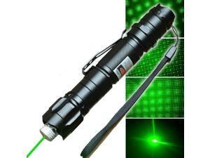 2Pcs Amazing 100Miles Red Laser Pointer Pen Single Beam Portable Mini Flashlight