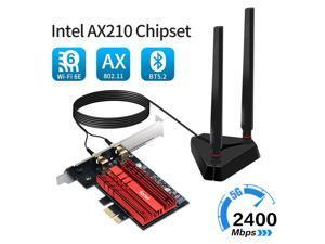 Intel AX210 wifi 6E card Desktop Wireless Adapter 802.11ax PCI-E WiFi Card BT5.2