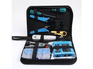 Rj45 Crimping Tool Kit Set For CAT5/CAT6 Lan Cable Tester Network Repair Tools