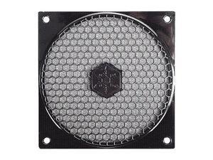 Black SilverStone SST-FF121B ABS Fan Grill/ Filter Kit for 120mm Case Fan