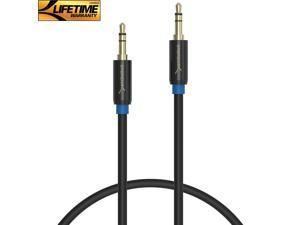 Sabrent 3.5mm Gold Plated Auxiliary Male To Male AUX Cable 3 Feet (CB-AUX1)