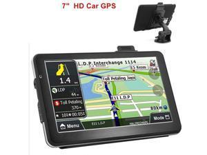 8GB 7inch Truck Car GPS Navigation Navigator Free us Canada Mexico EU World Map