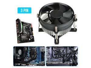 Tosuny Water Cooling Pump Silent Computer Water Cooled Heat Dissipation Set Cooling Heatsink Radiator Pump for DIY Players to Assemble Their own Cooling Device.