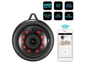 Wireless Mini WIFI IP P2P Camera HD Spy Security Night Vision Nanny cam Recorder