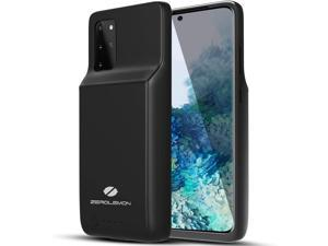 ZEROLEMON Galaxy S20 Plus Battery Case 8000mAh, Qi Wireless Charging Supported, Ultra Power Extended Battery Charger Case for Galaxy S20 Plus - Black