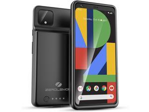 ZEROLEMON Google Pixel 4 XL Battery Case 8000mAh, Ultra Power Extended Battery with Soft TPU Full Edge Protection Case for Google Pixel 4 XL - Black