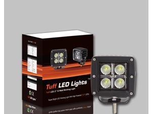 Tuff LED Lights Square LED Work Light - 3 Inch 12 Watt - Spot