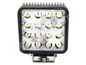 Tuff LED Lights Square LED Work Light - 4.5 Inch 48 Watt - Flood