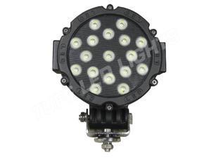 Tuff LED Lights Work Light - 7 Inch 51 Watt - Spot - Black