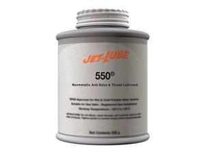 JET-LUBE 15555 Anti Seize Compound,Nonmetallic,4 oz.