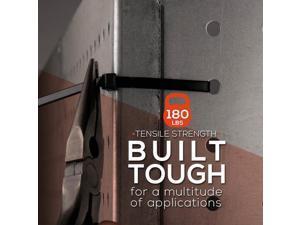 """TR Industrial TR88305 Multi-Purpose Cable Ties (50 Piece) 18"""" Black"""