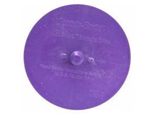 Body Mans Bristle Disc,3 In,PK3 SCOTCH-BRITE 07537