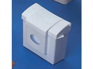 Health Gards Convertible Sanitary Napkin Receptacle, Plastic, 1gal, Wh
