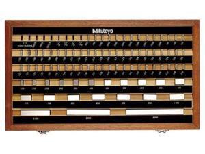 MITUTOYO 516-935-26 Gage Block Set,AS-1,0.625-2 In,9Pc