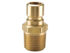 PARKER PN252 Coupler Nipple,1/4-18,1/4 In. Body,Brass