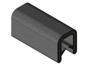 TRIM LOK INC 750B2X3/32-100 Edge Trim,Alum Clip,0.26 In W,100 Ft