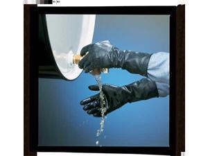 HONEYWELL B174R/10 Chemical Resistant Glove,17 mil,Sz 10,PR