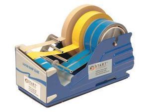 START INTERNATIONAL SL7346 Multi Roll Tape Dispenser,Blue,4 In. W