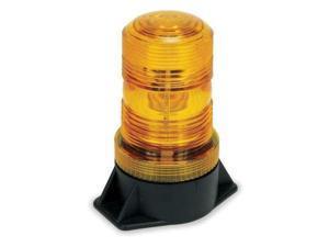 ZORO SELECT 2ERP7 Warning Light,Strobe,Amber,12 to 80VDC