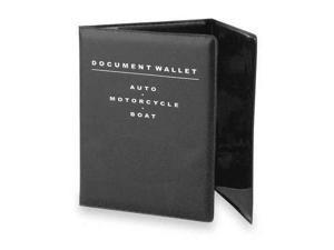 BELL 11003-8 Tri-Fold Document Wallet,Black