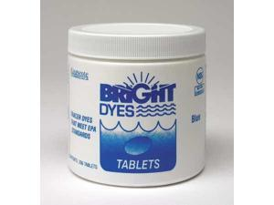 BRIGHT DYES 101102 Dye Tracer Tablet,Blue,PK200