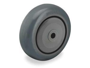 3//8 In Bore, Zoro Select P-Rcp-050X013//038K Caster Wheel Gray 70 Shore A