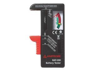 AMPROBE BAT-200 Battery Tester,9V, AA, AAA, C and D Cell