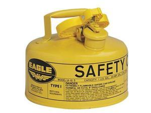 EAGLE UI10SY 1 gal. Yellow Galvanized steel Type I Safety Can for Diesel