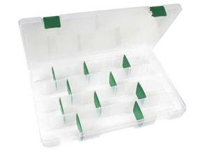 "FLAMBEAU T5008 4 to 48 Adjustable Compartment Box, 13-11/16""L x 8-3/16""W"