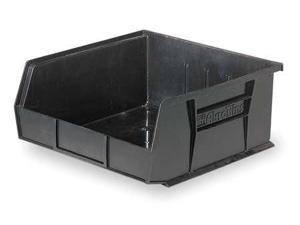 """AKRO-MILS 30235ESD Black Conductive Stack and Hang Bin, 10-7/8""""L x 11""""W x 5""""H"""