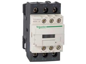 SCHNEIDER ELECTRIC T02AN13G7 120VAC Non-Reversing Magnetic Contactor 3P 9A NEMA