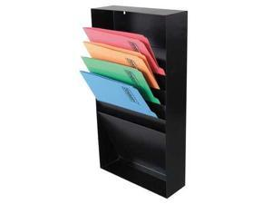 ZORO SELECT 3MUY4 File Holder,Letter,(5) Horizontal